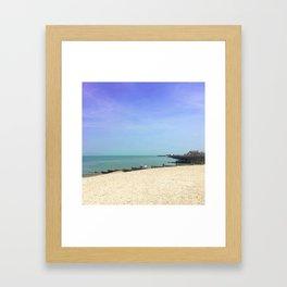 Beachcombers Framed Art Print