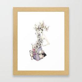 Bye Bye, Butterfree Framed Art Print