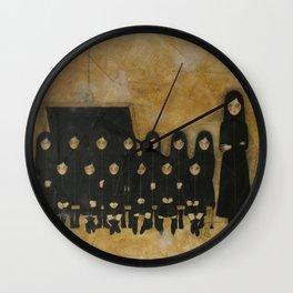 Ex ducere Wall Clock