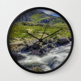 Path To Tryfan Wall Clock