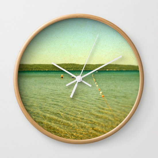 Bathing Beauties Wall Clock