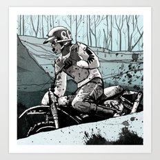 Dad Art Print