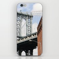dumbo iPhone & iPod Skins featuring DUMBO by Christian Hernandez