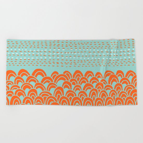 Infinite Wave Beach Towel
