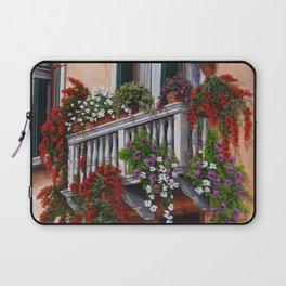 Romantic balconies Venice Laptop Sleeve