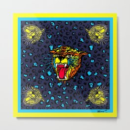 FAUVE (YELLOW) Metal Print