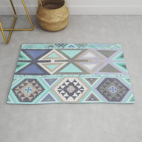 Aztec Artisan Tribal in Mint by beckybailey1