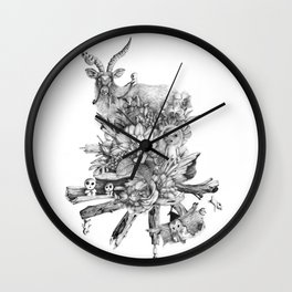 The Spirits' Playground Wall Clock