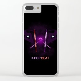 K-POP Beat Clear iPhone Case