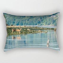 Everything is just Beachy Rectangular Pillow