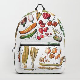 Vegetable Encyclopedia Backpack