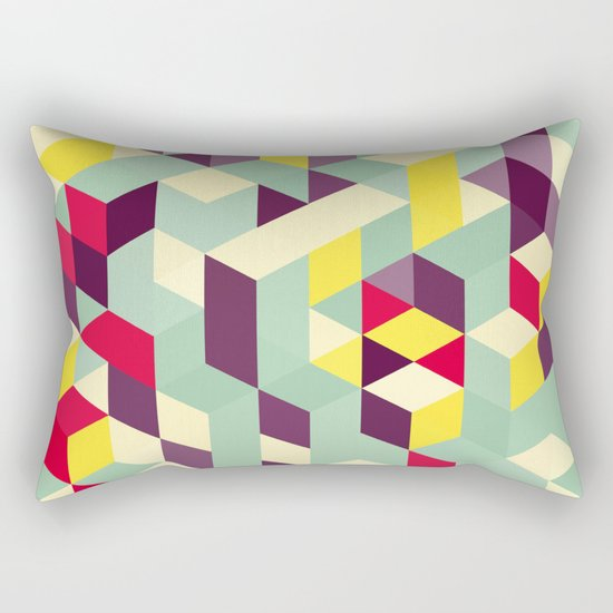 Lines stairs Rectangular Pillow