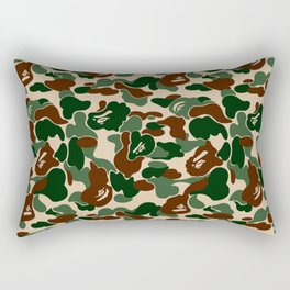 WOODLAND CAMO Rectangular Pillow