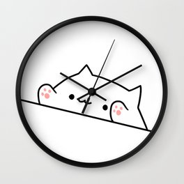 Bongo Cat Wall Clock