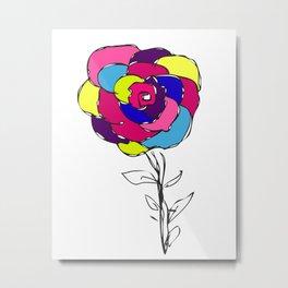 Flower yf 2048 Metal Print