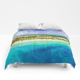 Cosmic Tropics Comforters