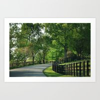 kentucky Art Prints featuring Kentucky by Lynn Photography