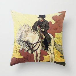Life of Napoleon Throw Pillow