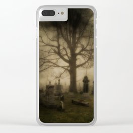 Unsettling Fog Clear iPhone Case