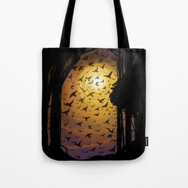 Flock Together Tote Bag