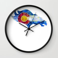 BRONCOS Wall Clock