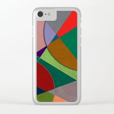 Abstract #327 Listening to Joni Mitchell Clear iPhone Case
