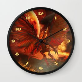 The Power of Aliens Wall Clock