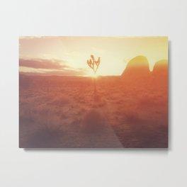Desert Life Metal Print
