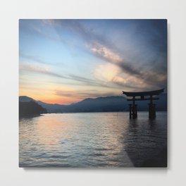 miyajima island views Metal Print