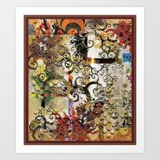 Abstract Tree of Life Art Print