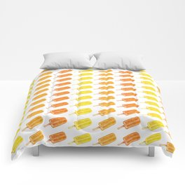 Colorful Popsicles - Summer Pattern Comforters