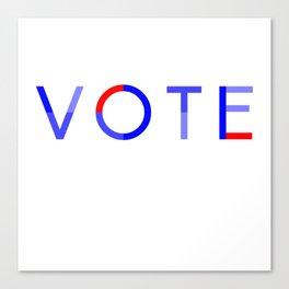 Vote Baby Vote 040616 Canvas Print