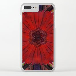 Flower Power 6 Clear iPhone Case