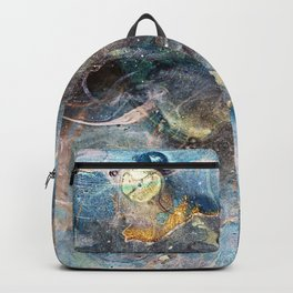whimsical abstract paint image Backpack