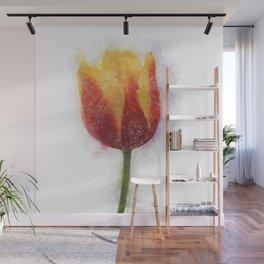Tulip Painting Wall Mural