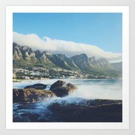 Hello Cape Town Art Print