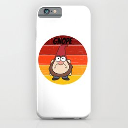 gnome for people who like gnomes  iPhone Case