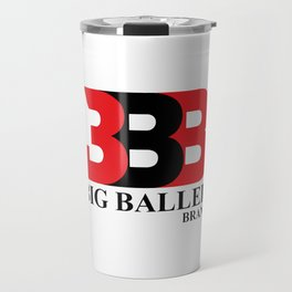 Big Baller Brand in red black Travel Mug