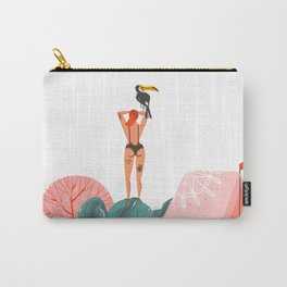 Toucan Babe Carry-All Pouch