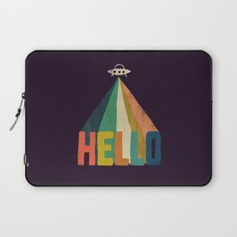 Hello I come in peace Laptop Sleeve