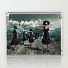 Road of girls Laptop & iPad Skin