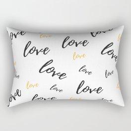 Multiple Love Rectangular Pillow