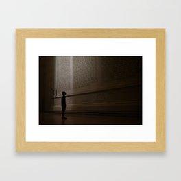 For Us, the Living Framed Art Print