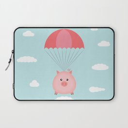Baby Pig in a Parachute Laptop Sleeve