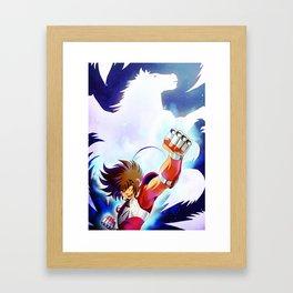 Pegasus ryu sei ken Framed Art Print