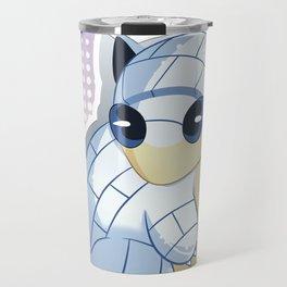 #027Alolan Sandshrew Travel Mug
