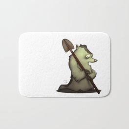 My Digital Zoo - Badger Bath Mat