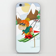 Winter Sports: Skiing iPhone & iPod Skin