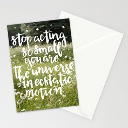 rumi field Stationery Cards