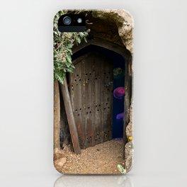 Ancient Doorway To Jellyfish iPhone Case